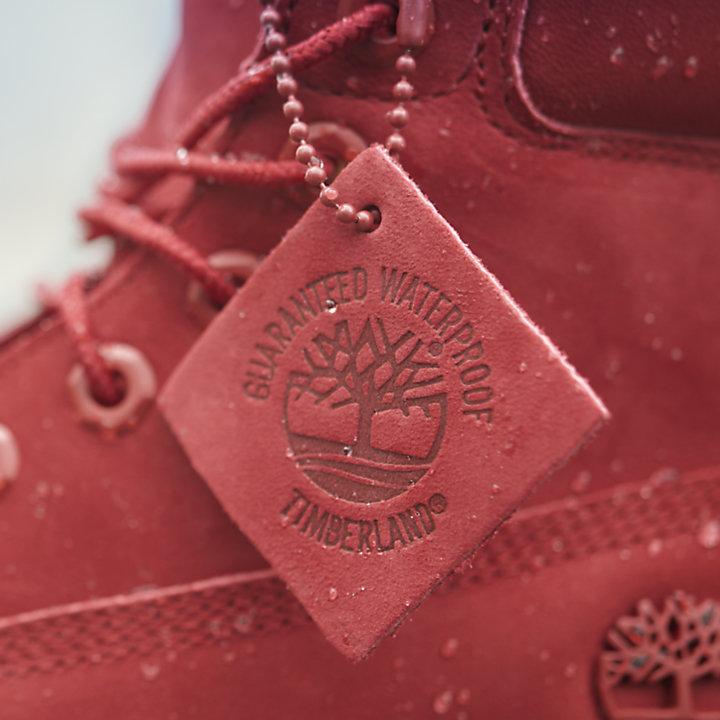 Women's Ruby Red 6-Inch Premium Waterproof Boots-
