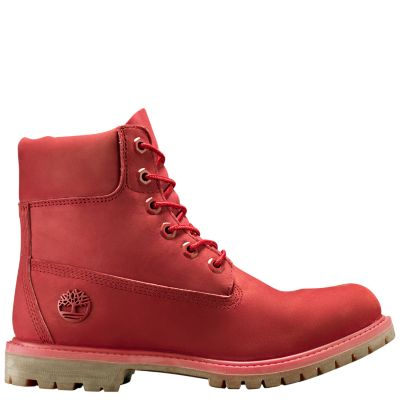 Women's Ruby Red 6-Inch Premium Waterproof Boots ...
