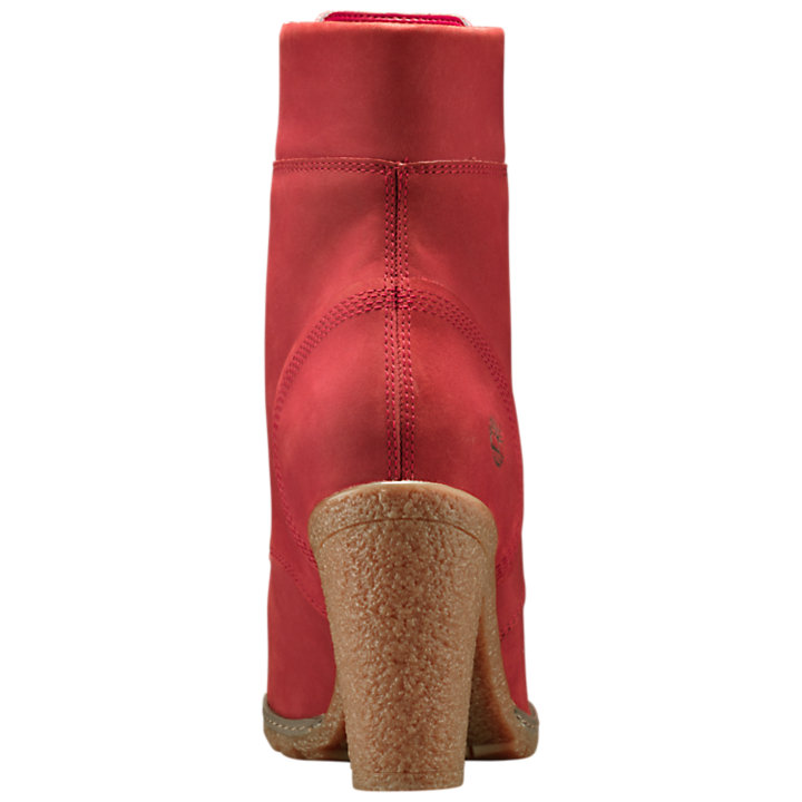 Women's Ruby Red Glancy 6-Inch Boots-