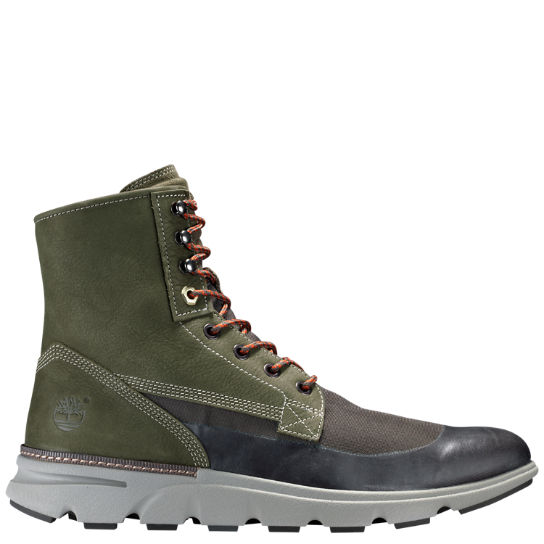 Men's Eagle Bay Mixed-Media Boots