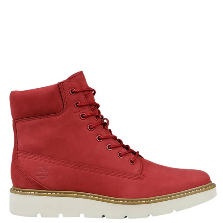 Women's Ruby Red Kenniston 6-Inch Lace-Up Boots-