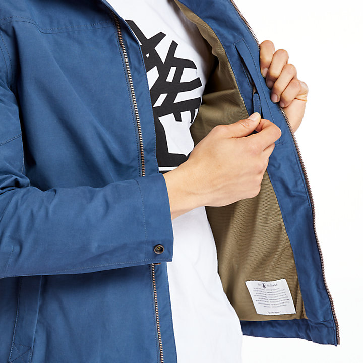 Men's Waterproof Hooded Bomber Jacket-