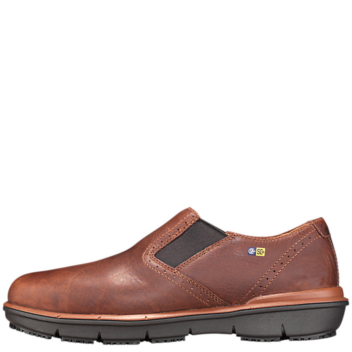 Men's Timberland PRO® Boldon SD+ Alloy Toe Slip-On Work Shoes-
