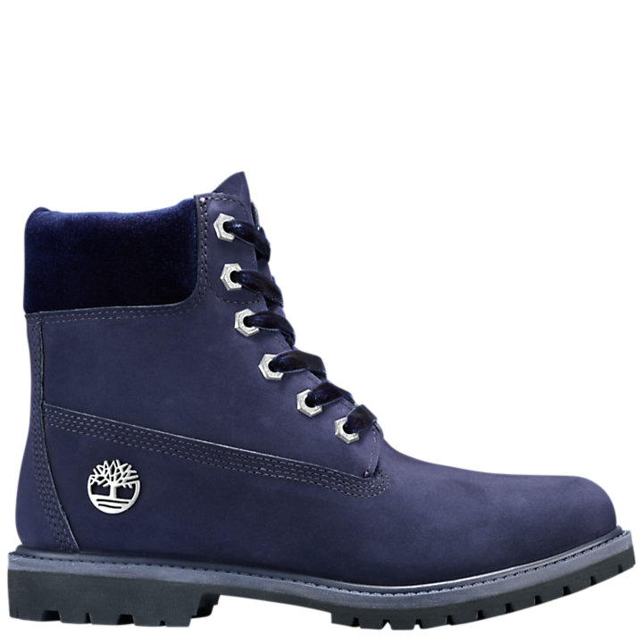 Women's Velvet-Accent Premium Waterproof Boots-