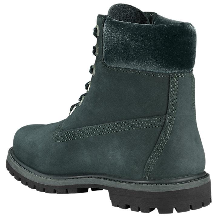 Women's Velvet-Accent Premium Waterproof Boots-