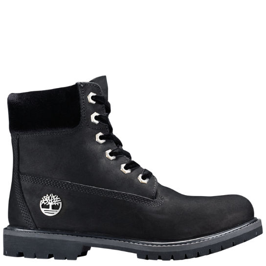 Women's Velvet-Accent Premium Waterproof Boots
