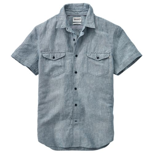 Men's Mill River Slim Fit Cargo Shirt-