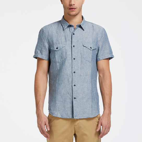 Men's Mill River Slim Fit Cargo Shirt