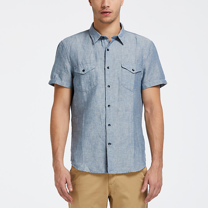 Men's Mill River Slim Fit Cargo Shirt-
