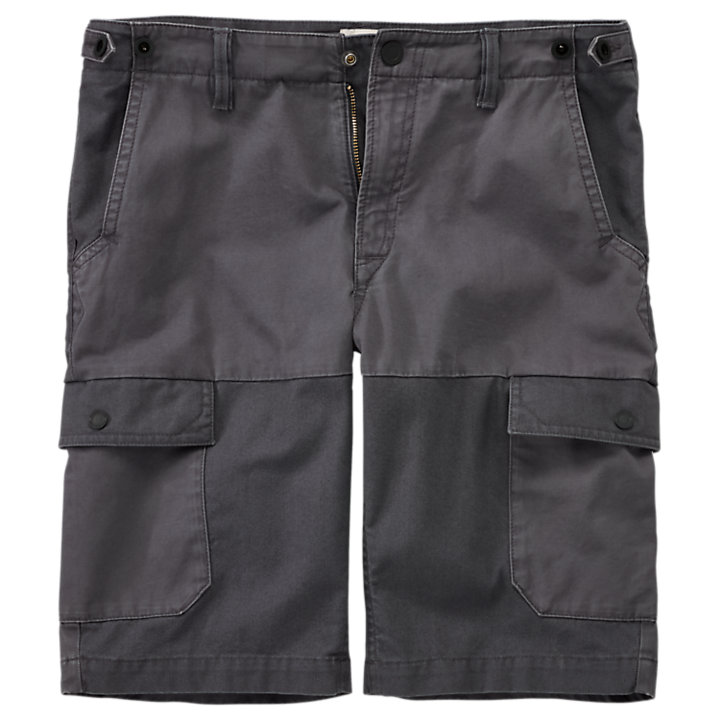 Men's Webster Lake Classic Straight Fit Mixed-Media Cargo Short-
