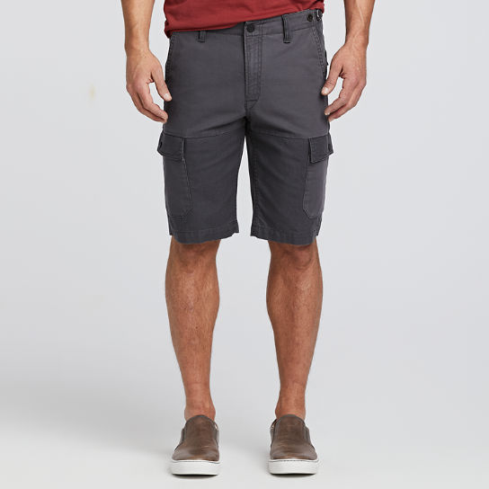 Men's Webster Lake Classic Straight Fit Mixed-Media Cargo Short