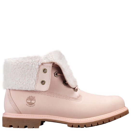 Women's Timberland Authentics Waterproof Fold Down Boots