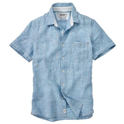 Men's Mill River Slim Fit Linen Shirt