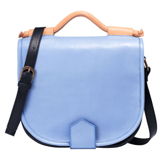 Mystic River Leather Satchel Bag
