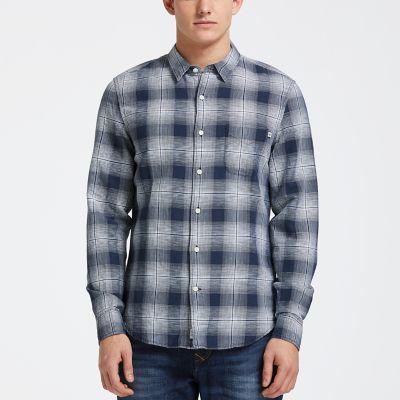 Men's Mill River Slim Fit Check Shirt