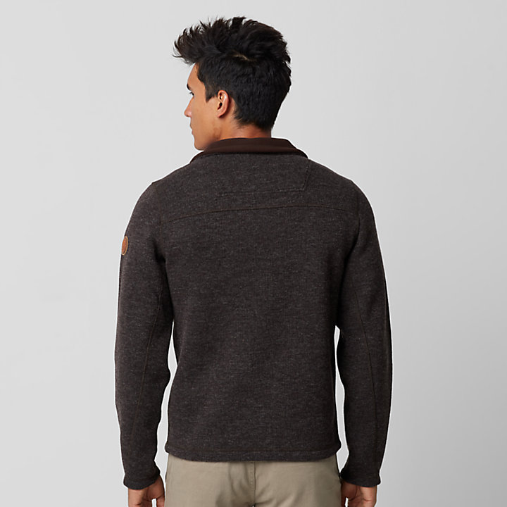Men's Branch River Quarter-Zip Fleece Sweater-