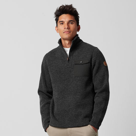 Men's Branch River Quarter-Zip Fleece Sweater