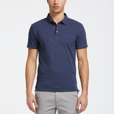 Men's Cooling Slim Fit Tropical Polo Shirt
