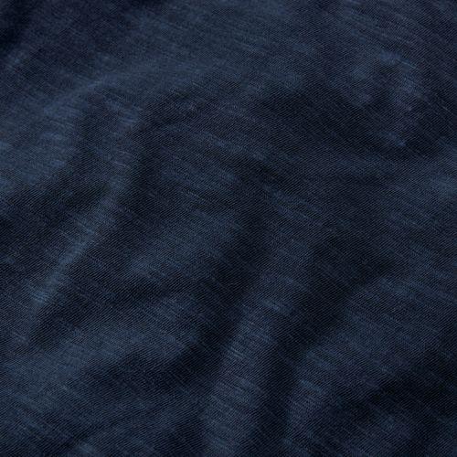 Men's Slim Fit Washed Henley Shirt-