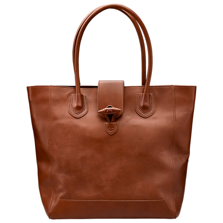 Winding Brook Classic Leather Tote Bag-