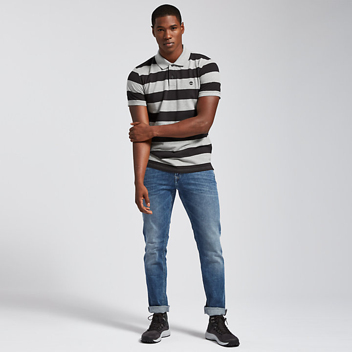 Men's Millers River Striped Rugby Shirt-