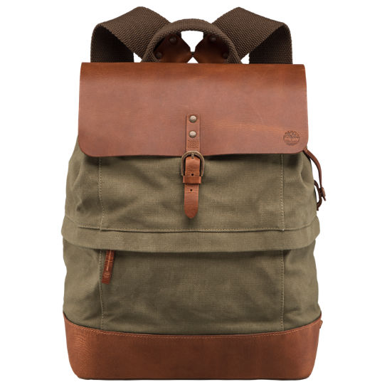Nantasket Waxed Canvas Backpack