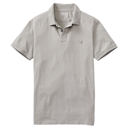 Men's Sunwashed Jersey Polo Shirt