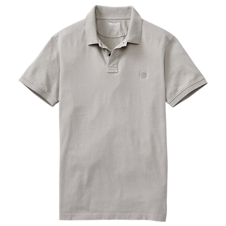 Men's Sunwashed Jersey Polo Shirt-
