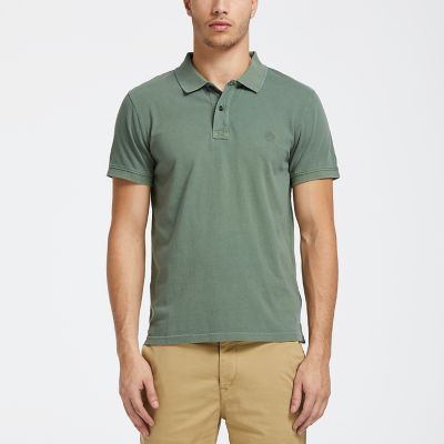 Men's Sunwashed Jersey Polo Shirt