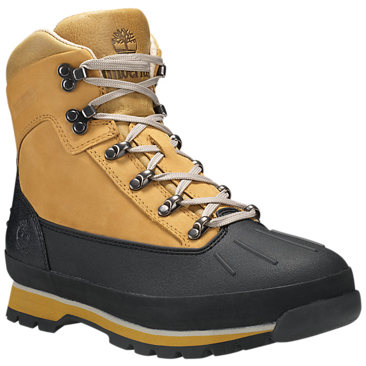 Men's Shell Toe Waterproof Euro Hiker Boots