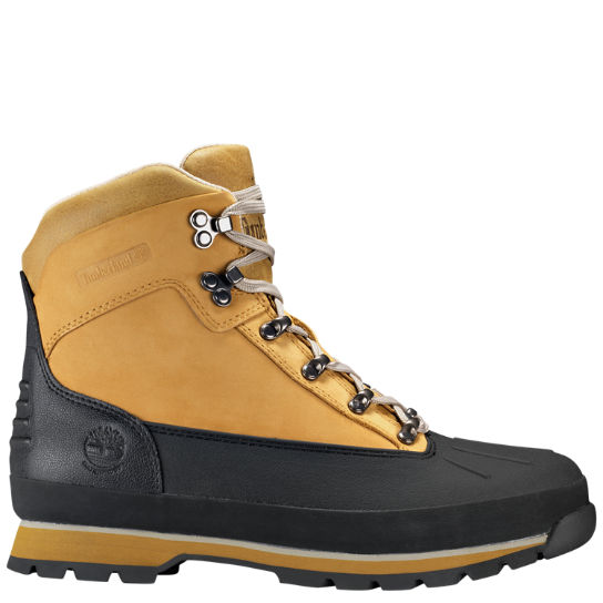 Men's Shell-Toe Waterproof Euro Hiker Boots