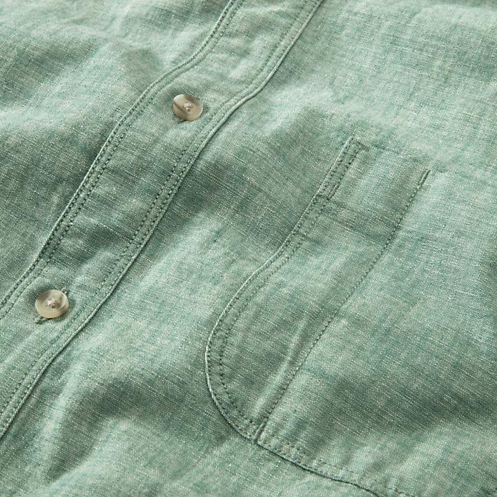 Men's Mumford River Slim Fit Chambray Shirt-