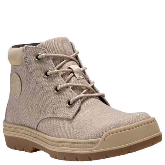 Junior Ramble Wild Canvas Chukka Boots