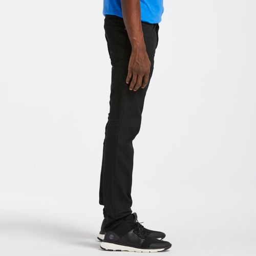 Men's Sargent Lake Slim Fit Black Denim Pant-