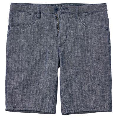 Men's Squam Lake Straight Fit Linen Short