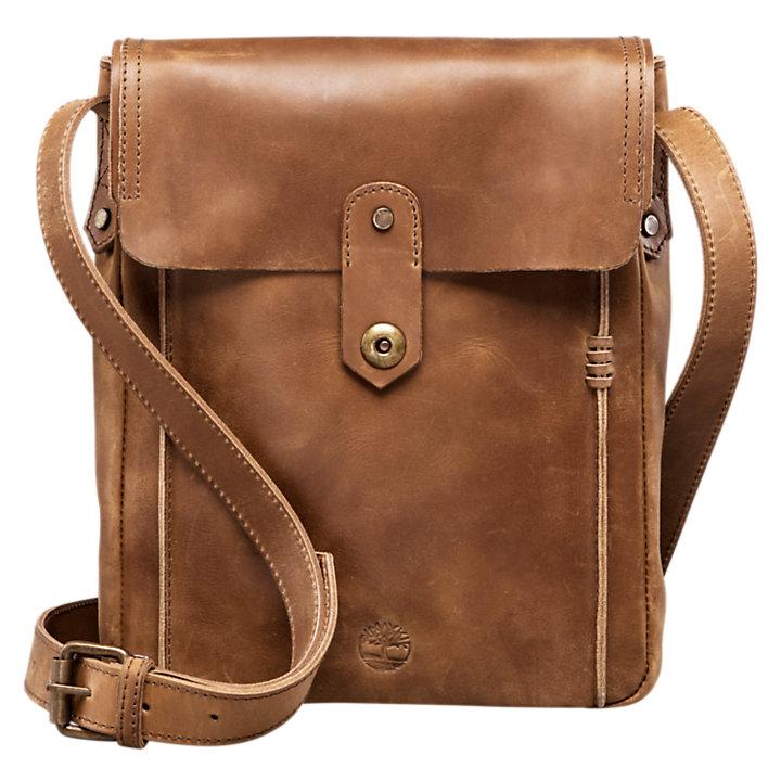 Walnut Hill Water-Resistant Leather Shoulder Bag-