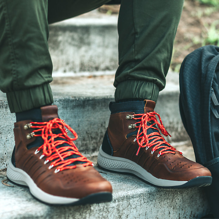Men's FlyRoam™ Trail Leather Boots-