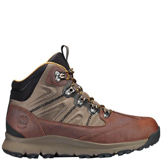 Timberland Millen Peak Mid Fabric Waterproof Hiking Sneaker MCiaHcyG5z