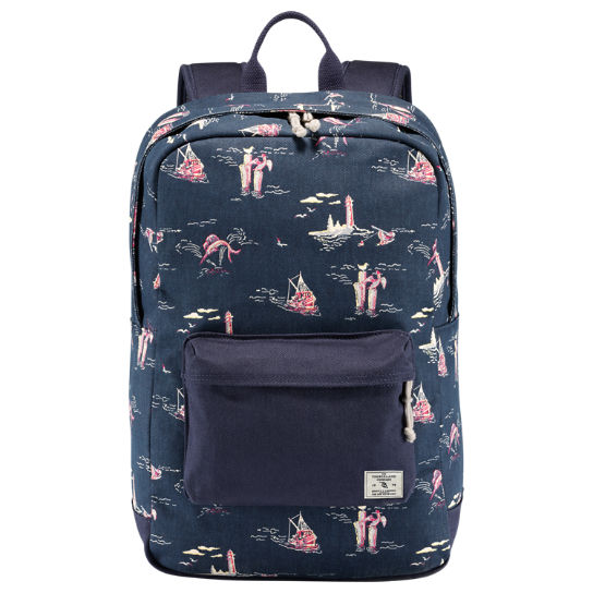 Illustrator Water-Resistant Canvas Backpack