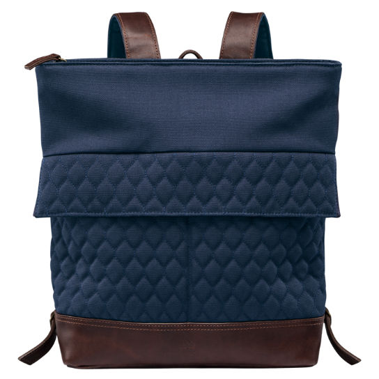 Mystic River Water-Resistant Quilted Backpack