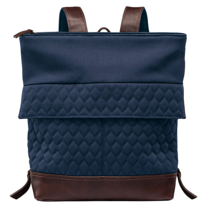Mystic River Water-Resistant Quilted Backpack-