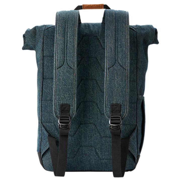 Walnut Hill 18-Liter Denim Roll-Top Backpack-