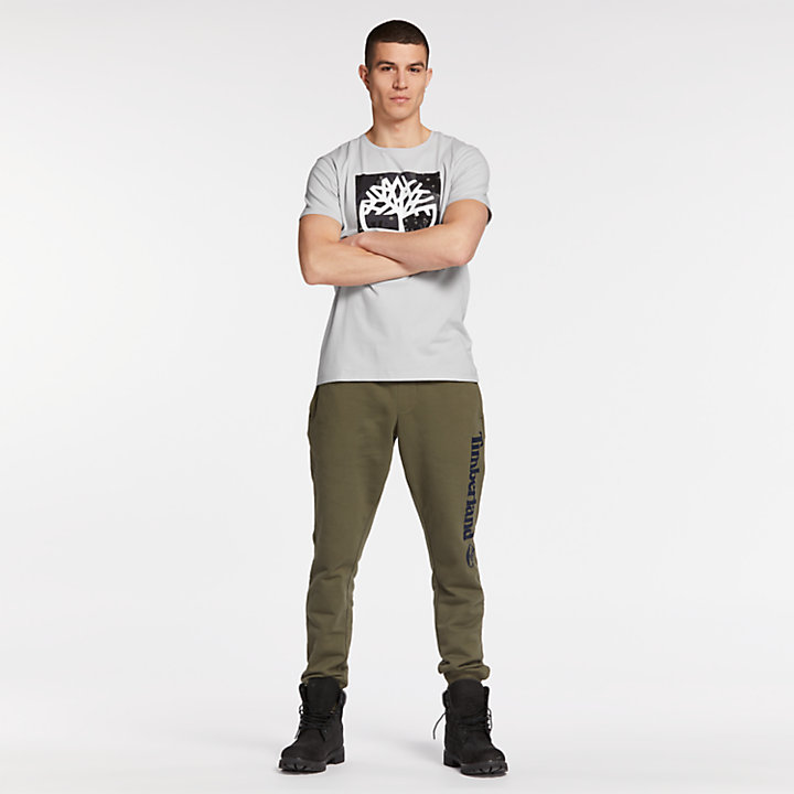 Men's Camo Logo Graphic T-Shirt-