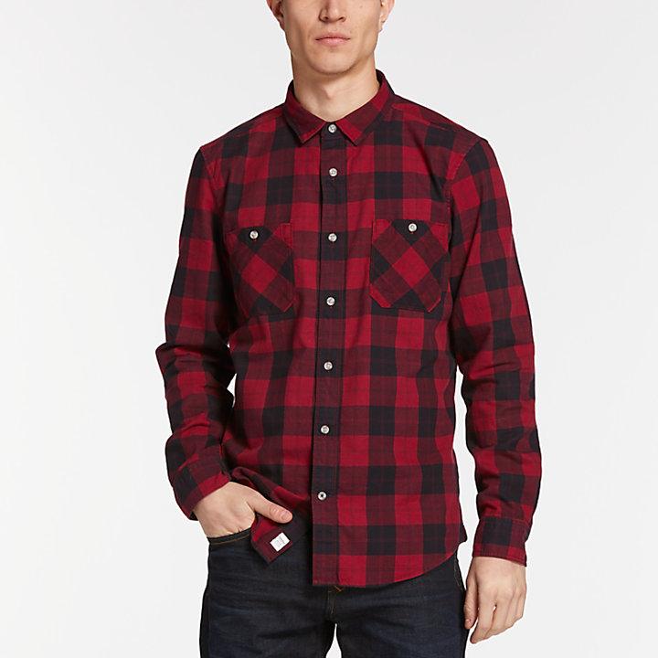 Men's Buffalo Check Flannel Shirt-