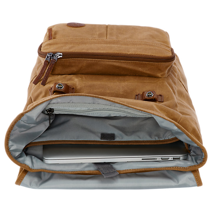 Walnut Hill 18-Liter Waxed Canvas Backpack-