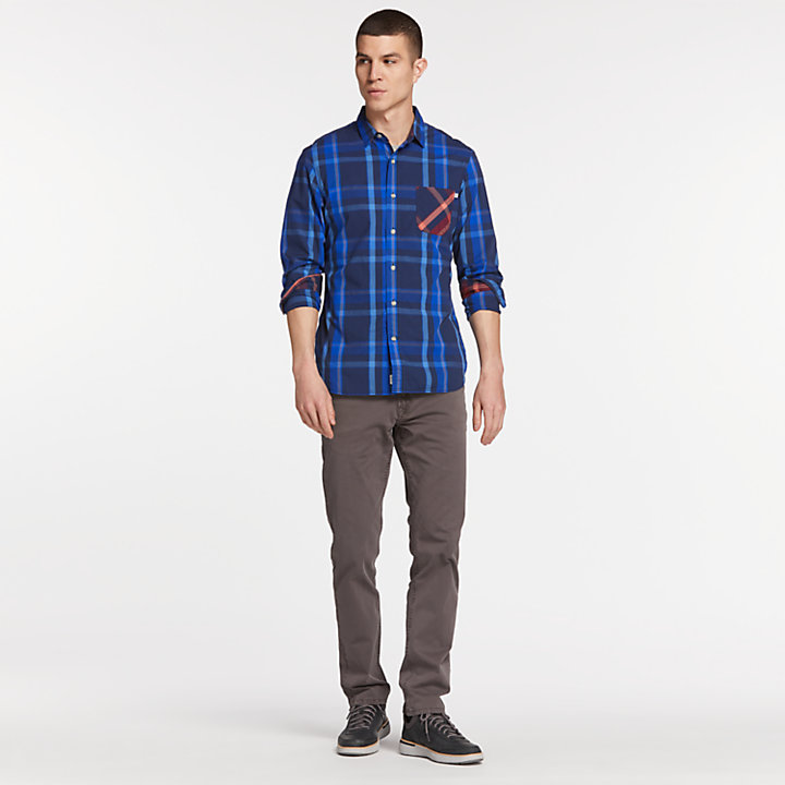 Men's Eastham Fitted Check Shirt-