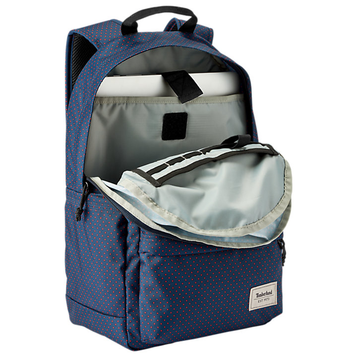 Crofton 22-Liter Water-Resistant Polka Dot Backpack-