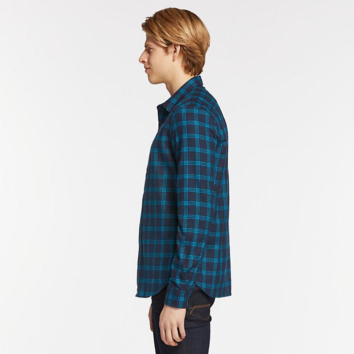 Men's Back River Slim Fit Herringbone Flannel Shirt-