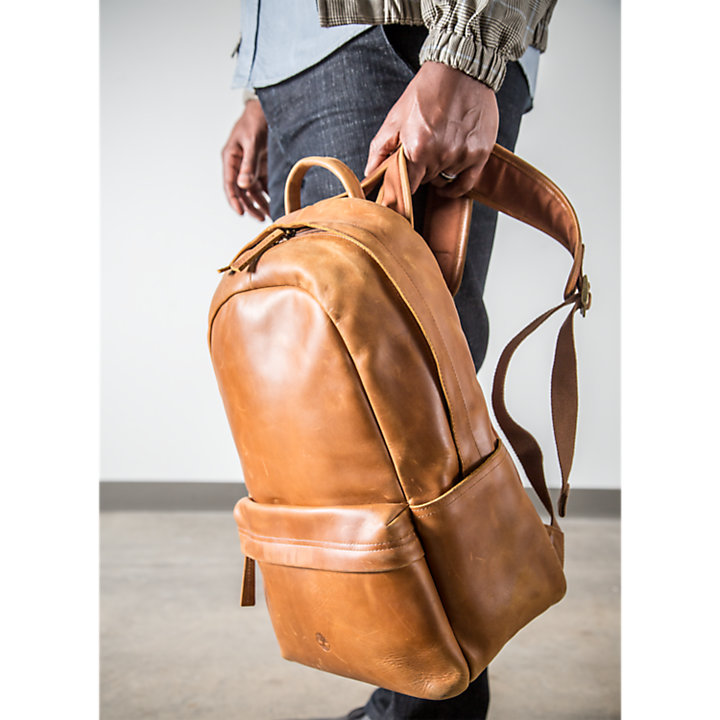 Tuckerman Leather Backpack-
