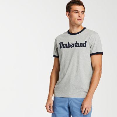 Men's TBL® Linear Logo Ringer T-Shirt